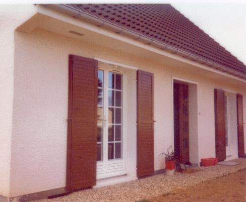 La maison de mes parents Bourrié en 1979