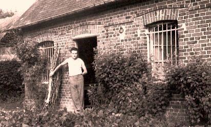 Ancourteville seine maritime maison de madeleine en 1950