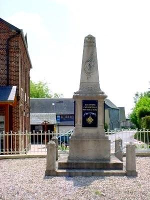 Ancourteville seine maritime monument aux morts