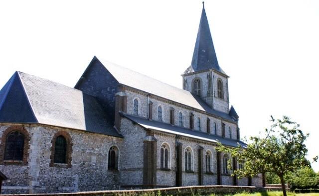 Anvéville (Seine-Maritime) Eglise Saint Pierre