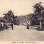 Apremont la foret 55 l entree du village cpa