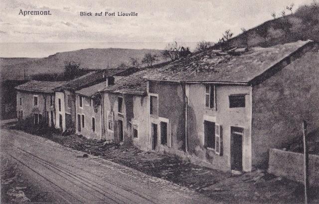 Apremont la foret 55 liouville 1914 1918 cpa
