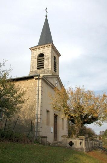 Apremont la foret 55 liouville l eglise saint nicolas