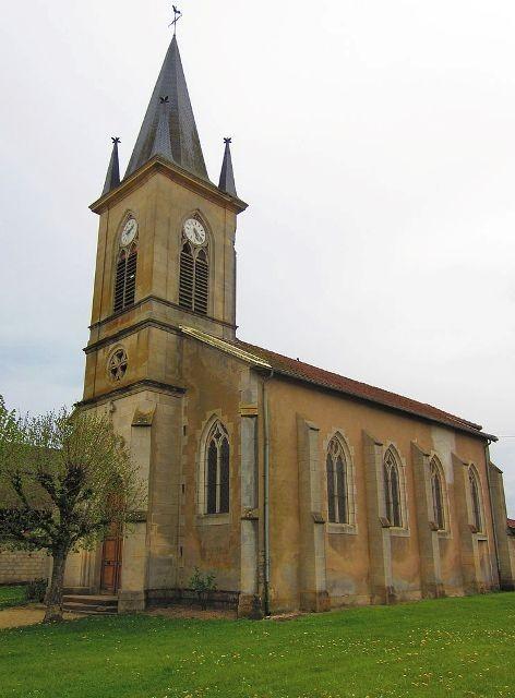 Apremont la foret 55 saint agnant sous les cotes l eglise saint agnant