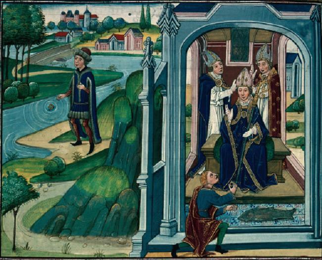 Arnoul de Metz et l'anneau retrouvé