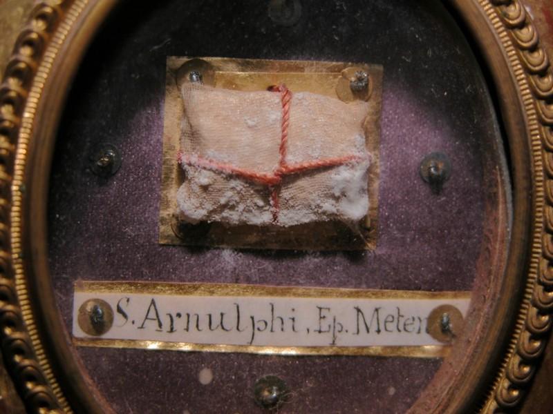 Arnoul de Metz, relique