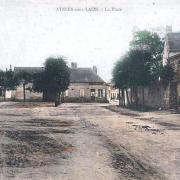 Athies-sous-Laon (Aisne) CPA place