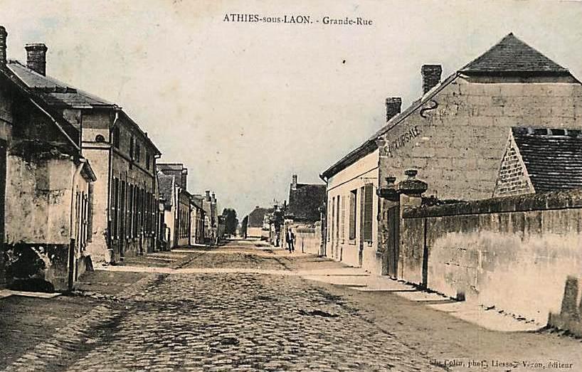 Athies-sous-Laon (Aisne) CPA