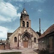 Athies-sous-Laon (Aisne) église Saint Quentin