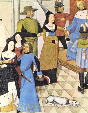 Audience à la Cour de Philippe 1er, miniature du XVè