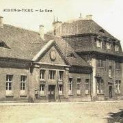 Audun-le-Tiche (Moselle) La gare CPA