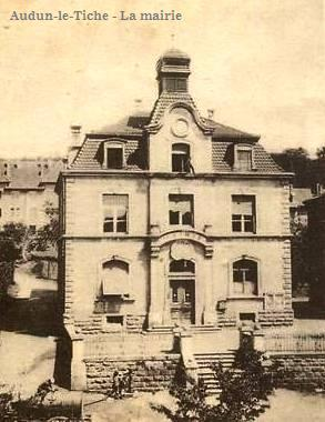 Audun-le-Tiche (Moselle) La mairie CPA