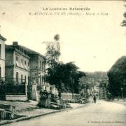 Audun-le-Tiche (Moselle) La mairie et les écoles CPA