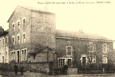 Audun-le-Tiche (Moselle) La maison du menuisier CPA