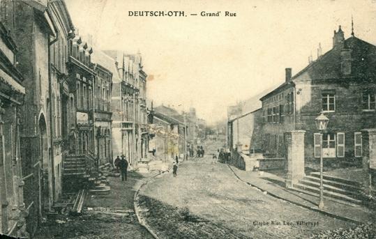Audun-le-Tiche (Moselle) La rue principale CPA