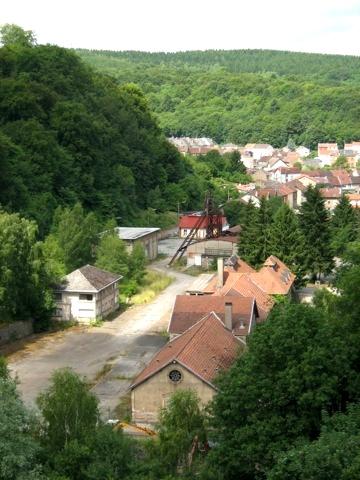 Audun-le-Tiche (Moselle) Le carreau de la mine Saint-Michel