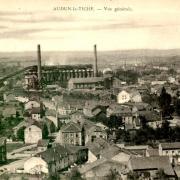Audun-le-Tiche (Moselle) Vue générale CPA