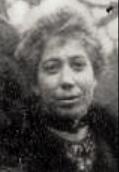 Augustine Isabelle Saillard en 1918