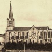 Aumetz (Moselle) L'église CPA