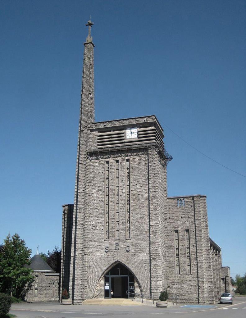 Aumetz (Moselle) L'église Saint Gorgon