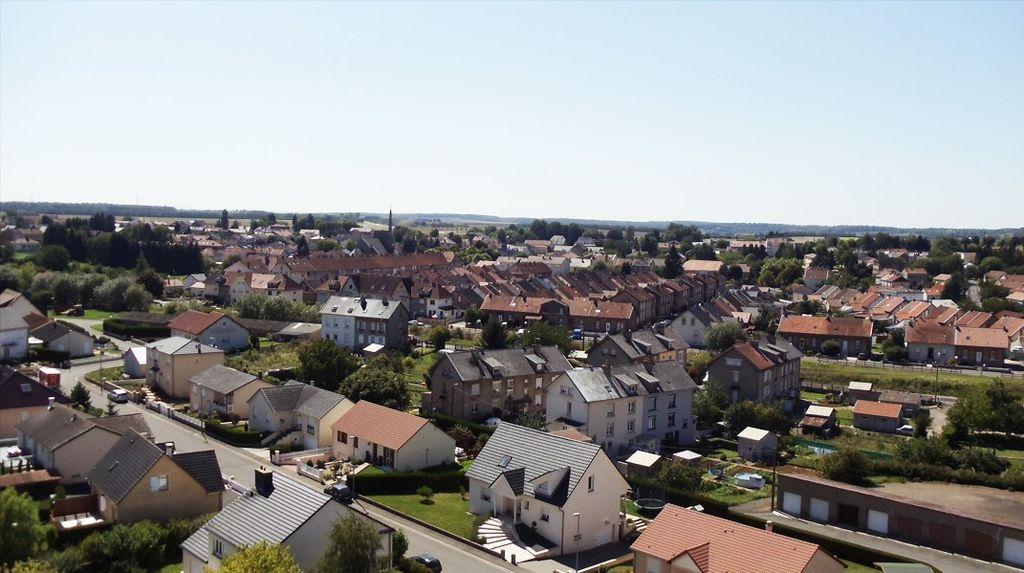 Aumetz (Moselle) Vue générale depuis la mine