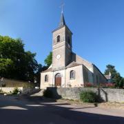 Aunay-en-Bazois (Nièvre) L'église