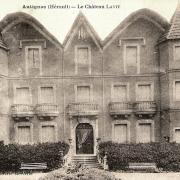 Autignac (Hérault) CPA Le château Lavit