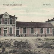 Autignac (Hérault) CPA Les écoles