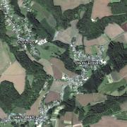 Autreches 60 vue satellite