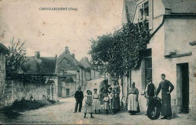 Autreches oise cpa chevillecourt