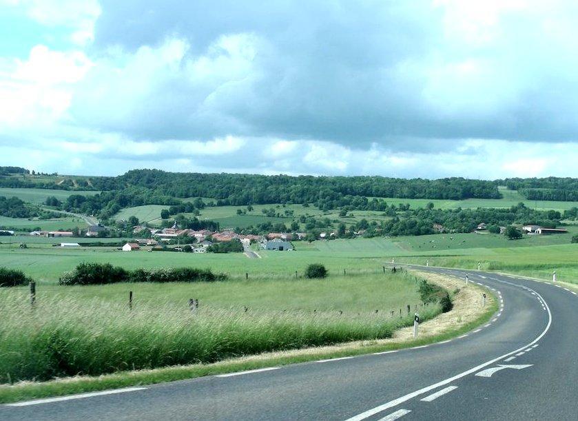 Autréville-Saint-Lambert (Meuse) Vue générale