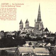 Autun (Saône-et-Loire) La cathédrale Saint Lazare CPA