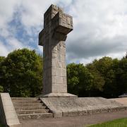 Autun (Saône-et-Loire) La croix de la Libération