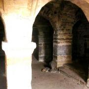 Autun (Saône-et-Loire) La crypte de l'abbaye d'Andoche