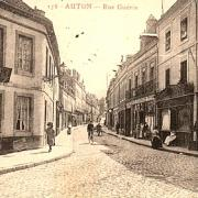 Autun (Saône-et-Loire) La rue Guérin CPA
