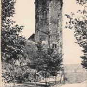 Autun (Saône-et-Loire) La tour des Ursulines CPA