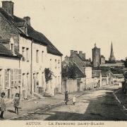 Autun (Saône-et-Loire) Le Faubourg Saint Blaise CPA