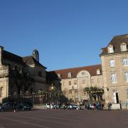 Autun (Saône-et-Loire) Le lycée Bonaparte