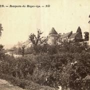 Autun (Saône-et-Loire) Les remparts gallo-romains CPA