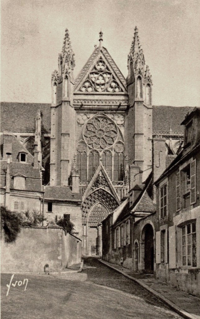 Auxerre (89) La Cathédrale Saint-Etienne CPA