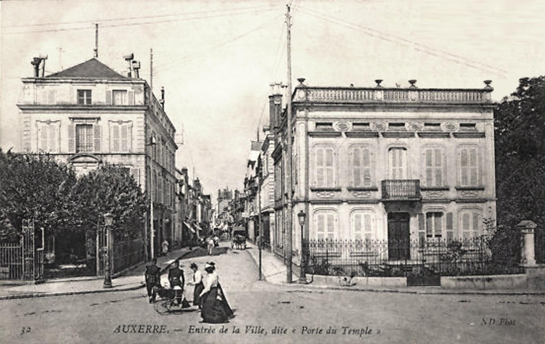 Auxerre (89) La Porte du Temple