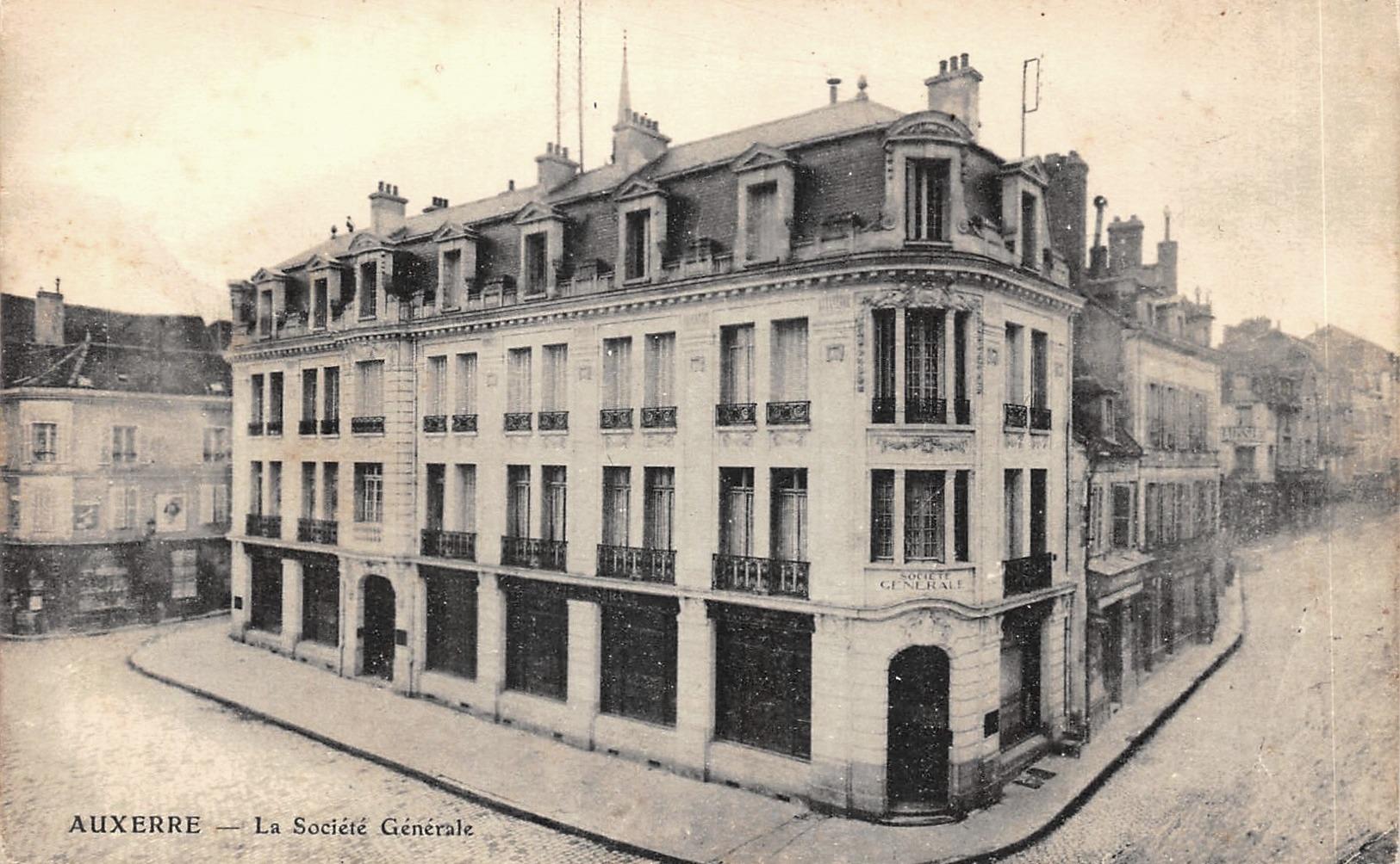 Auxerre (89) La Société Générale CPA