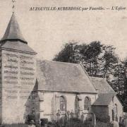 Auzouville auberbosc seine maritime eglise cpa