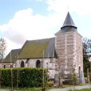 Auzouville auberbosc seine maritime eglise saint leger
