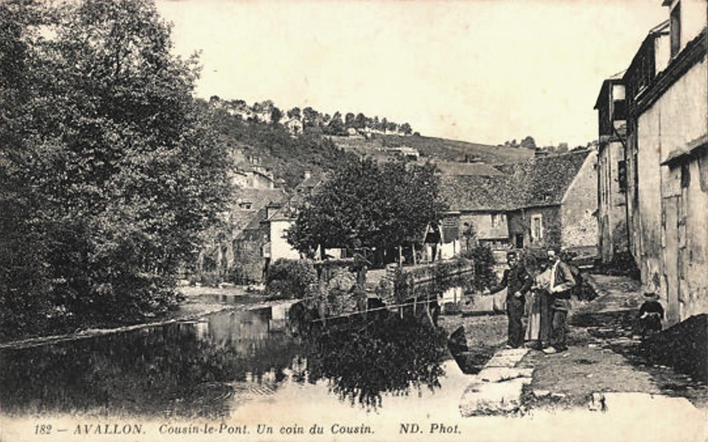 Avallon (89) Cousin-le-Pont CPA