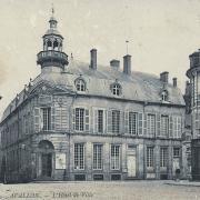 Avallon (89) L'Hôtel de Ville CPA