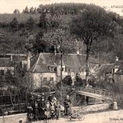 Avallon (89) La ferme des nids CPA