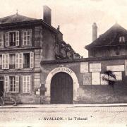 Avallon (89) Le tribunal CPA
