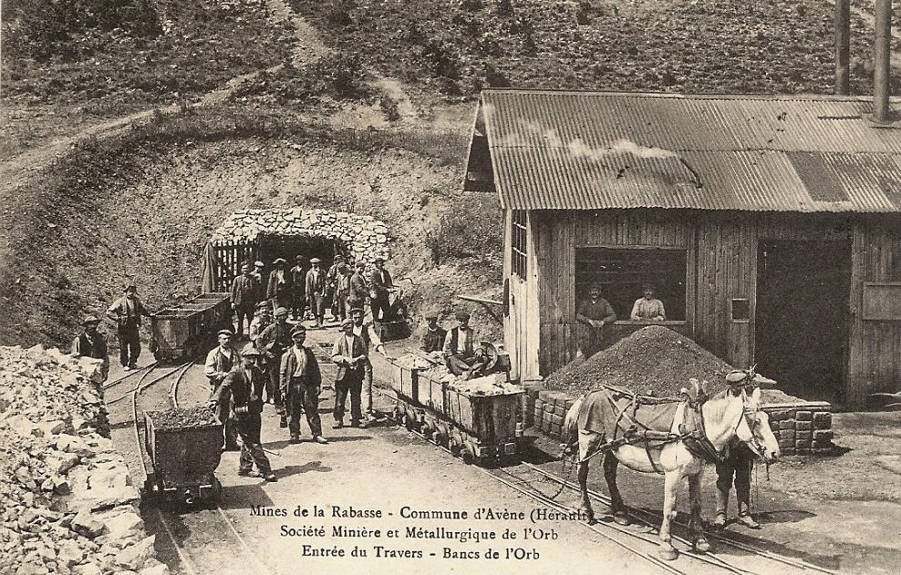 Avène (Hérault) La mine de la Rabasse CPA