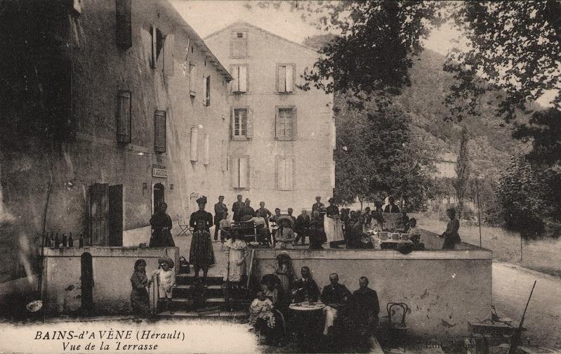 Avène (Hérault) Les Thermes CPA